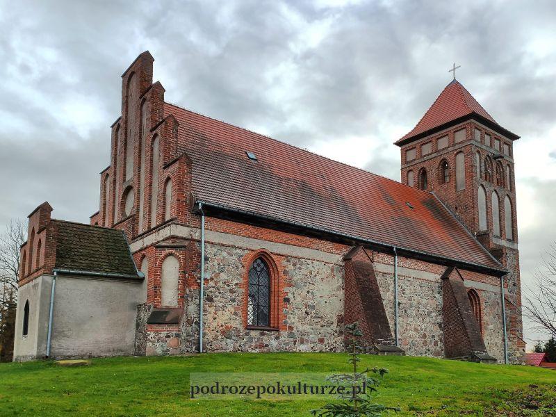 Boreczno kościół gotycki