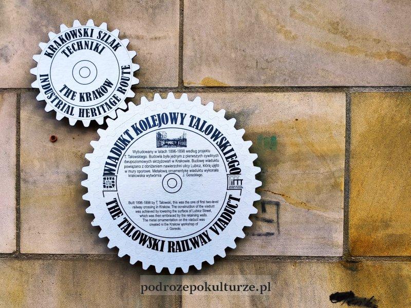 Krakowski Szlak Techniki - oznaczenie szlaku