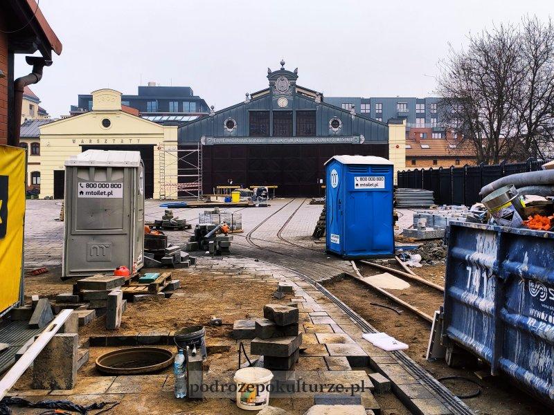 Krakowski Szlak Techniki zajezdnia tramwajowa na Wawrzyńca Muzeum Inżynierii Miejskiej