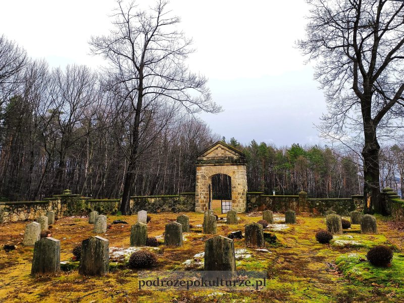 Cmentarze I wojny światowej okręgu Bochnia - Cmentarz wojenny nr 303 – Rajbrot