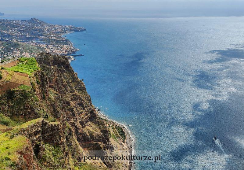 Cabo Girão taras widokowy Madera