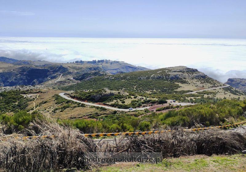 Pico do Arieiro droga dojazdowa