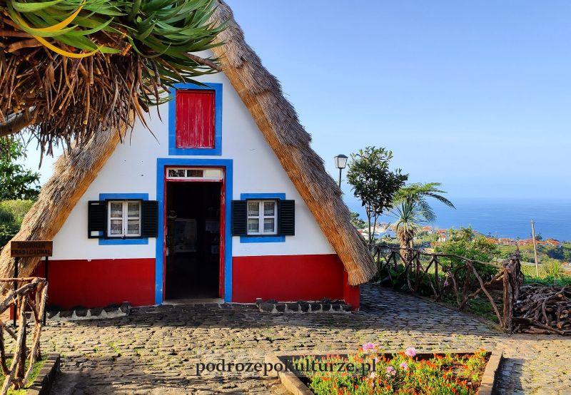 Casas típicas de Santana Madera