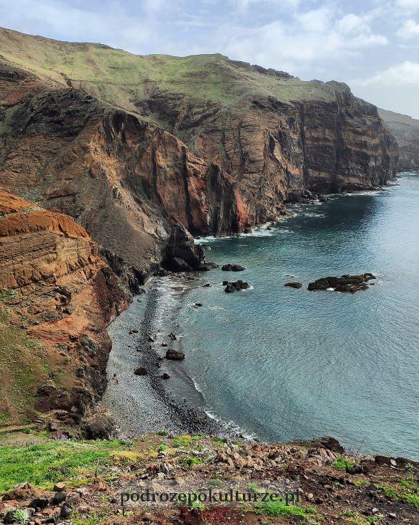 Ponta de São Lourenço - najbardziej na wschód wysunięty punkt Madery