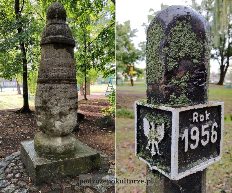 Park Drogowskazów i Słupów Milowych Cywilizacji słup koniński i słupek graniczny