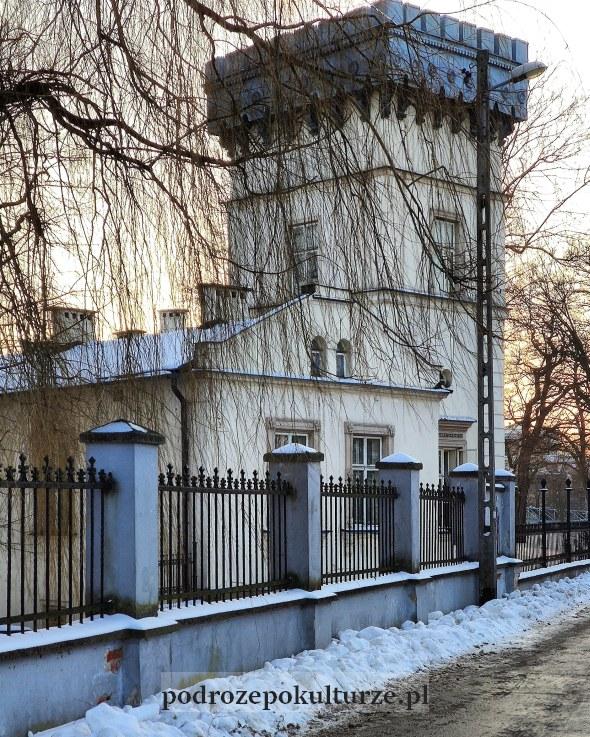 Dębniki Pałac Lasockich wieża