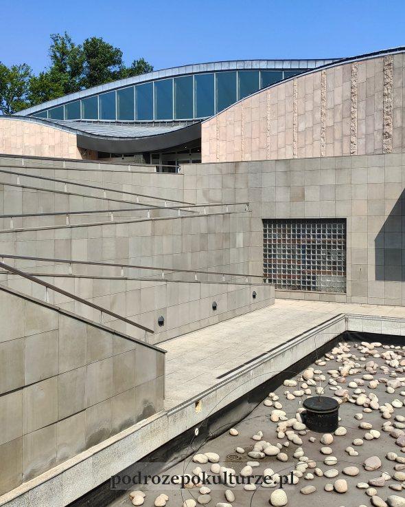 Siedziba muzeum manggha Dębniki