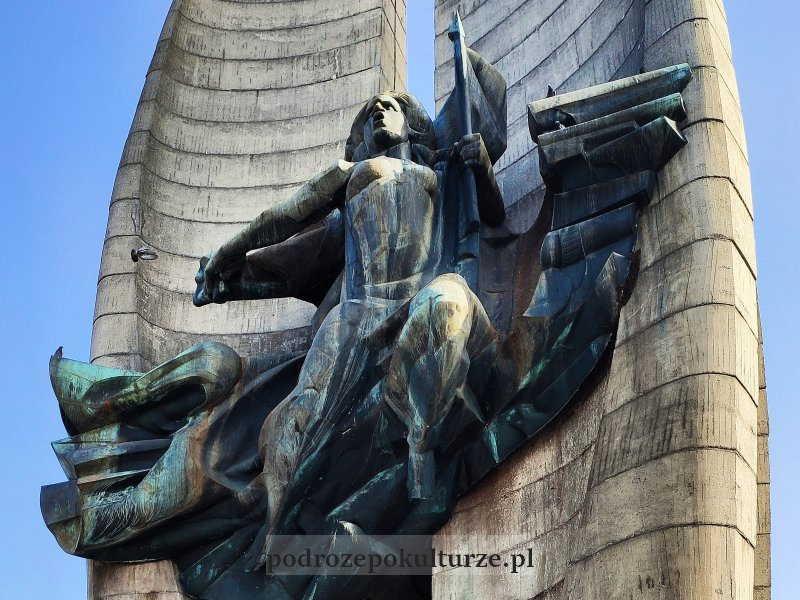 Rzeszów pomnik czynu rewolucyjnego Mariana Koniecznego Nike