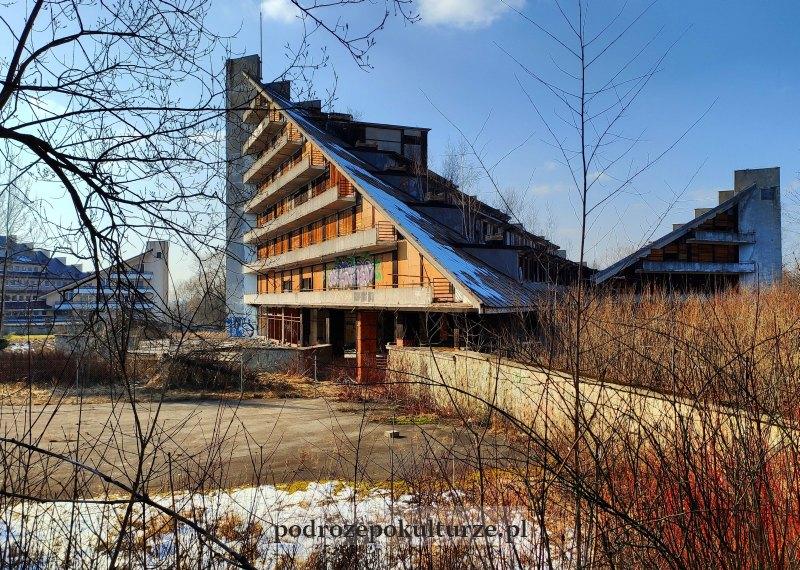 opuszczone sanatorium Maciejka w Ustroniu