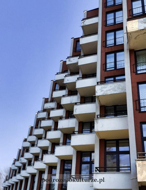Śląskie piramidy - balkony