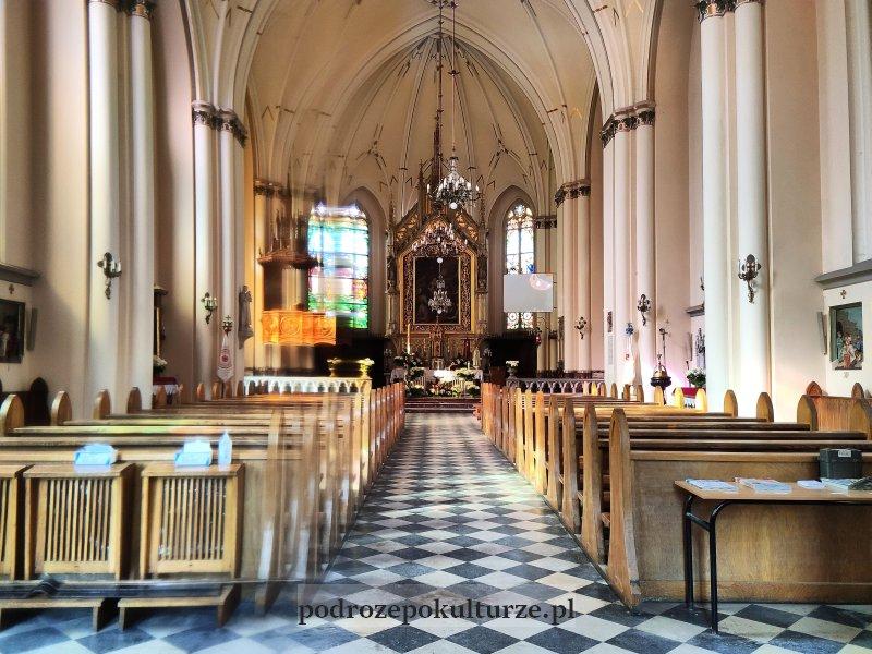 Krzeszowice kościół św. Marcina z Tours wnętrze