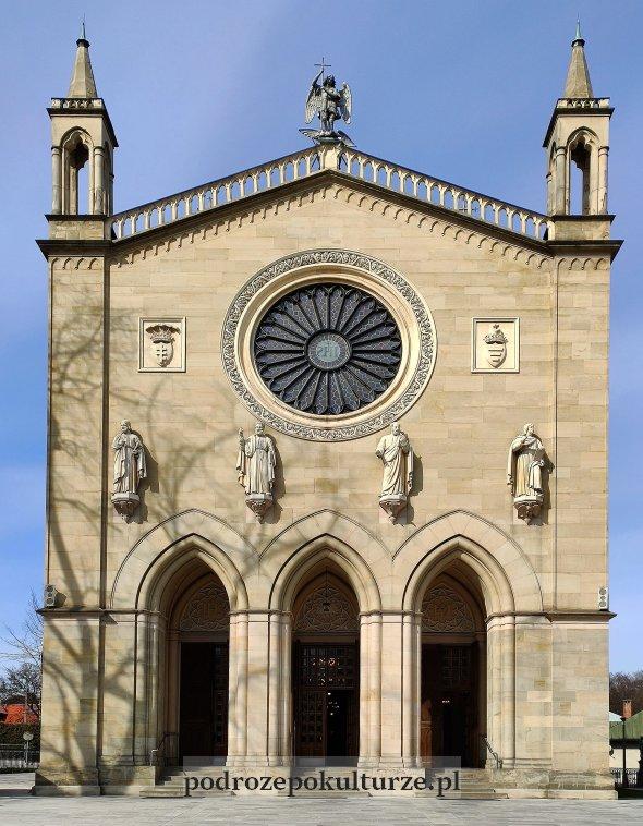 Krzeszowice kościół św. Marcina z Tours. Architektura Karla Schinkla w Polsce