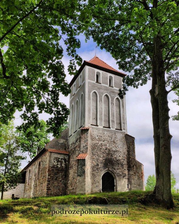 mało znane atrakcje w Polsce Glaznoty kościół ewangelicki