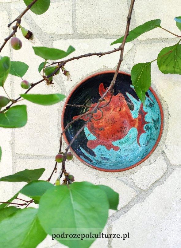 Talerz ceramiczny Heleny Husarskiej