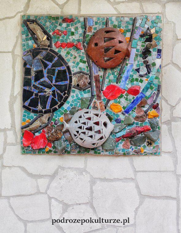 Mozaika - dekoracja fasady Ekosamotni