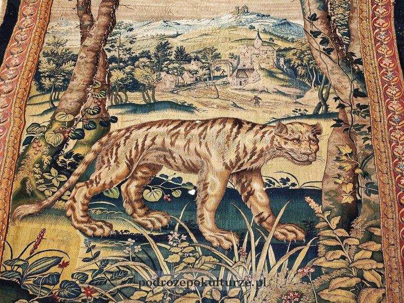 arrasy wawelskie - tygrys