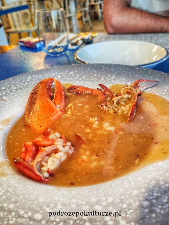 Gulasz z homara - jedno z dań kuchni minorkańskiej