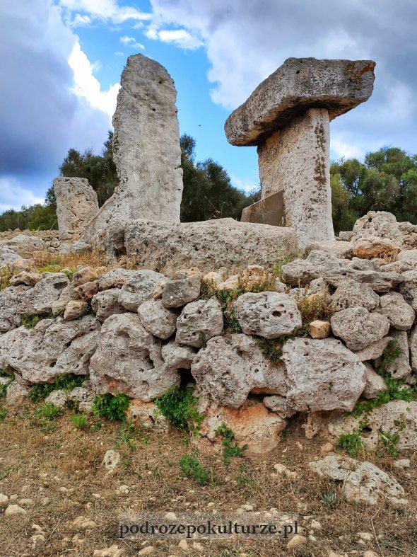 Minorka kultura taljotyczna Taula