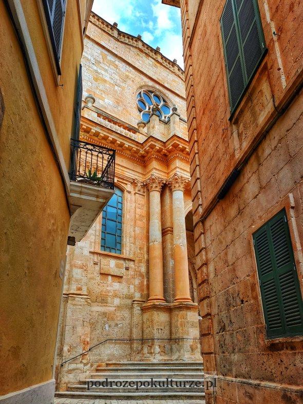 katedra w Ciutadella Minorka