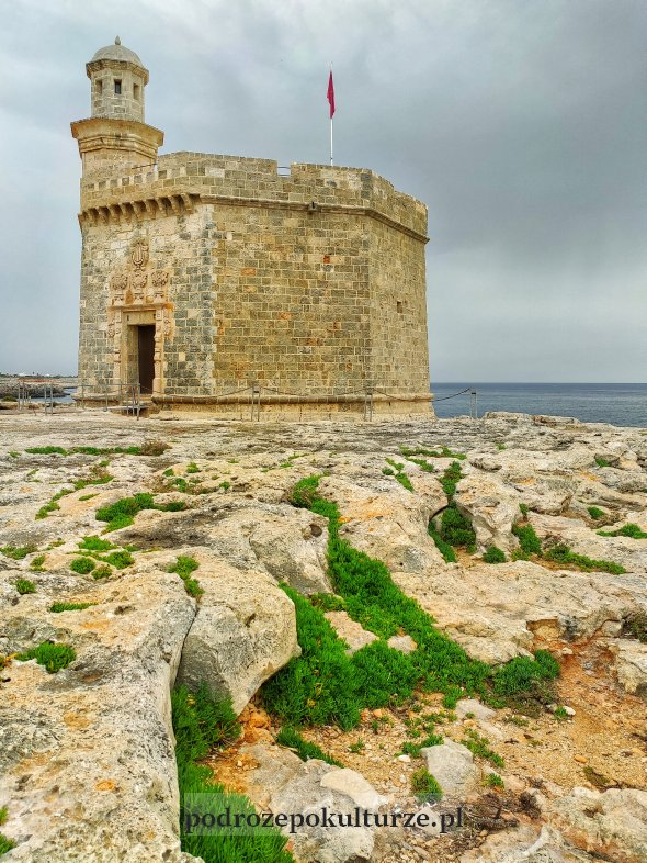 Castell de Sant Nicolau Ciutadella Minorka