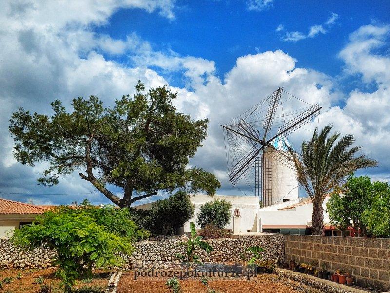 Molí de Dalt - zabytkowy młyn na Minorce