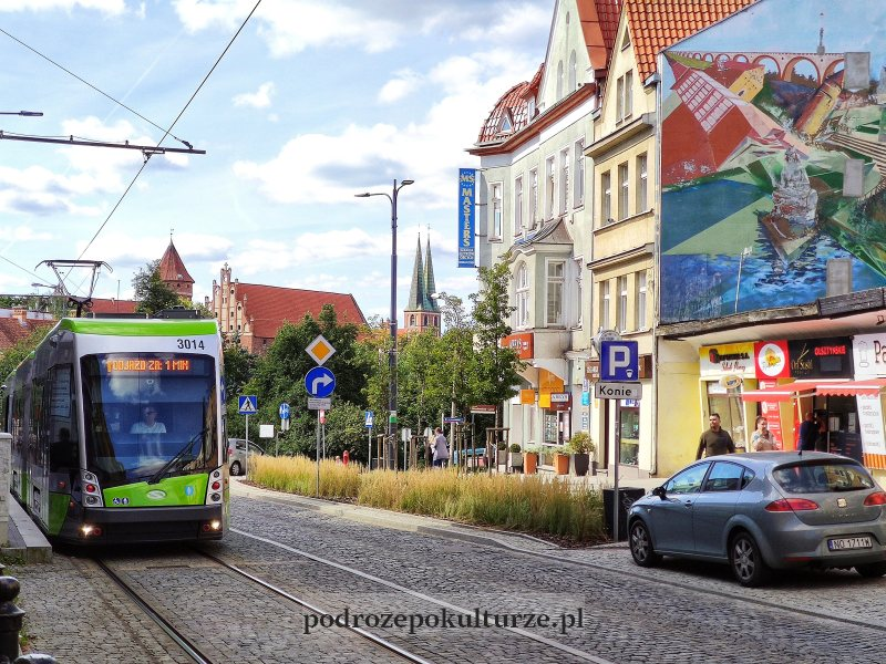 Olsztyn tramwaj linii 1