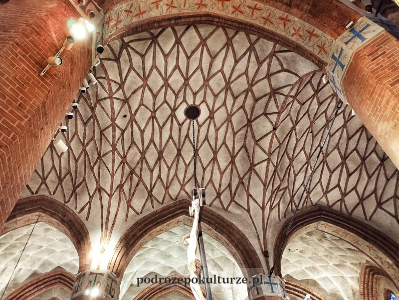 Olsztyn katedra św. Jakuba sklepienie sieciowe