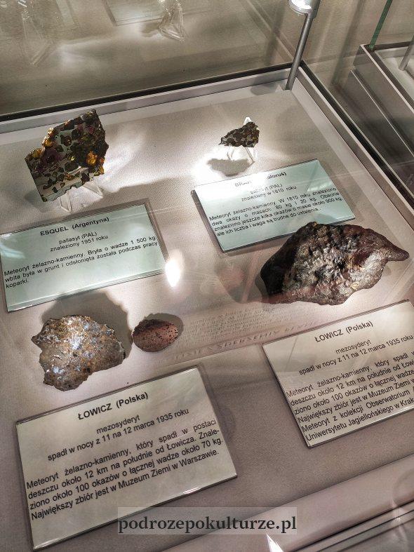 meteoryty ze zbiorów obserwatorium astronomicznego w Olsztynie