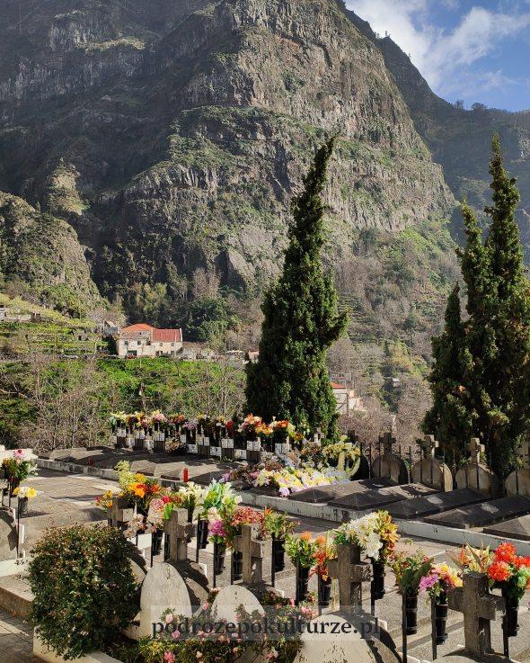 Curral das Freiras cmentarz w dolinie zakonnic Madera