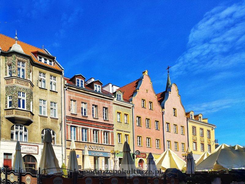 Kamienice na rynku w Olsztynie
